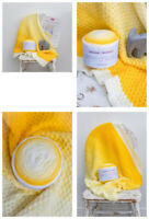 SIRDAR Pattercake Baby Cot Blanket Colour Pack - Daisy Darling Colourway