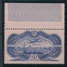 [6181] France 1936 airmail the RARE stamp very fine MNH val $1800. LUXE
