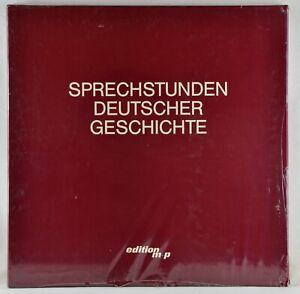 Sprechstunden Deutscher Geschichte - Edition M + P 4 LP Box still sealed 1977