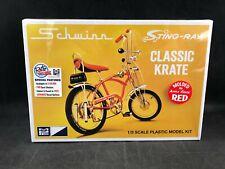 "MPC Schwinn Sting-Ray Classic ""Apple Krate"" Bicycle 1:8 Scale Model Kit 914 NIB"