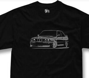 T-shirt for bmw M3 E30 fans tshirt NEW