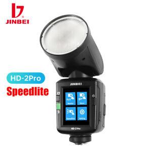 JINBEI HD-2 Pro Speedlite Mini Studio Strobe Flash Light for Canon Nikon Sony