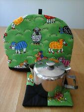 Tea cosy, tea pot cosy, one cup tea cosy, small tea cosies, handmade, sheep