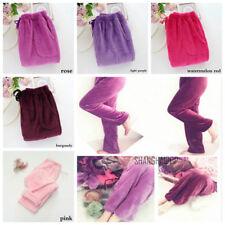 Lady Lounge Pants Pyjamas Bottoms Nightdresses Fleece Flannel Plush Warm Trouser