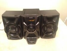 SONY 100 Watt Shelf System Stereo iPhone iPod Dock Home Audio System MHC-EC609iP