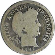 1897-O Barber Silver Dime G Uncertified