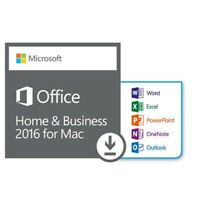 MICROSOFT OFFICE 2016 Home and Business✔Für 1 MAC✔Produkt Key✔EXPRESS E-Mail
