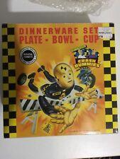 The Incredible Crash Dummies Dinnerware Set