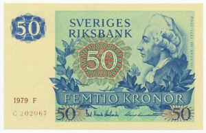 SWEDEN, SVERIGE - 50 Kronor 1979. P53c, UNC. (SW032)
