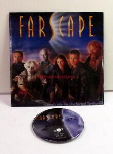 Farscape~CD-Disk~Season 1~Pinback Button~Sci-Fi TV Promo~Bios, Screen Saver