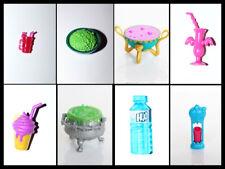 Food, Eat, Drink, accesorios, Monster High, Clawdeen, Lagoona, Draculaura, Frankie Stein
