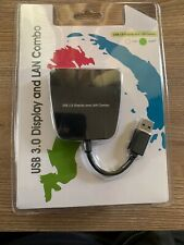USB 3.0 to HDMVideo & Gigabit Ethernet Adapter Converter RJ45 LAN Network Combo
