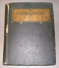 jewish judaica antique book De Vrydagavond Dutch 1928 periodical weekly jood