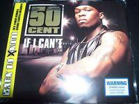 50 Fifty Cent If I Can't Australian CD Single – Like New
