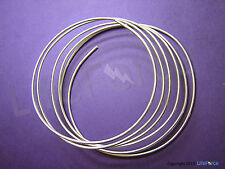 9999 Pure Silver Wire 12 Gauge  6 Feet   Certified 99.99% Pure