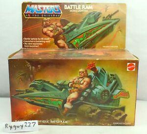 MOTU, Battle Ram, Open Box, 8-Back, Masters of the Universe, He-Man, vintage