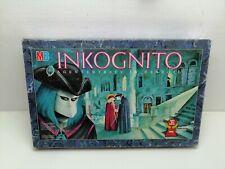 Inkognito – Agententreffen in Venedig von MB Spiel des Jahres 1988 Brett