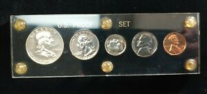 1956 Proof Set With Capitol Holder Nice Set