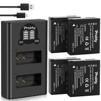 DMW-BLG10 Battery or Charger for Panasonic Lumix DC-ZS80 GX9 LX100 II ZS70 GX80