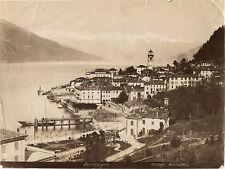 Italie Bellagio B Lac de Côme Lago di Como Bosetti Vintage albumine ca 1880