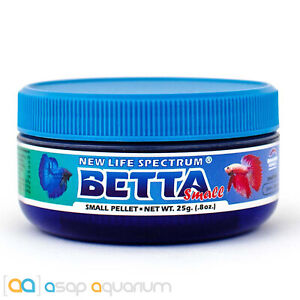 New Life Spectrum BETTA Small Pellet 25g Betta Fish Food