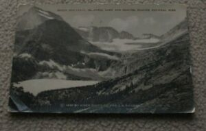 1910 Glacier National Park Gould Mtn Grinnell Lake G N Ry Great Northern RR Card