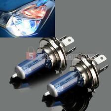 2 100W H4 Fanale Anteriore Lampadina Luce Bianco Caldo DC12V Ricambi Auto 5m9e