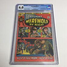 Marvel Spotlight #2 CGC 6.0 Vintage Comic Horror KEY 1st App Werewolf By Night