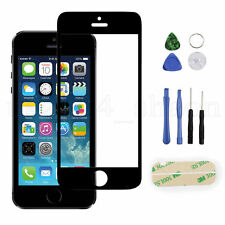 For Apple IPhone 5S / 5 /5c Front Screen Glass Lens Replacement REPAIR KIT Black