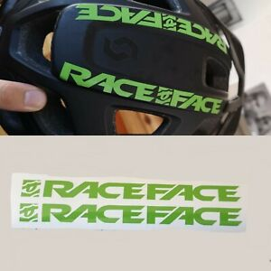 Raceface Any Colour Decal Sticker Helmet Bicycle Mtb Forks Frame