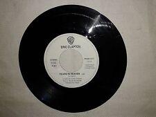 "Eric Clapton / Chris Isaak - Disco Vinile 45 Giri 7"" Edizione Promo Juke Box"