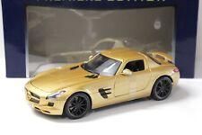 1:18 Maisto Mercedes-Benz SLS AMG Coupe gold NEW bei PREMIUM-MODELCARS