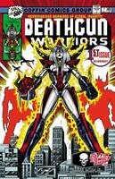 Lady Death Hot Shots #1 Death Gun Warriors   Ltd. Ed. 150 Comic Book