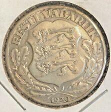 Estonia  1930 2 Krooni KM 20
