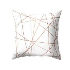 "18"" Rose Gold Pink Series Cushion Cover Throw Pillow Case Pillowcase Home Decor"