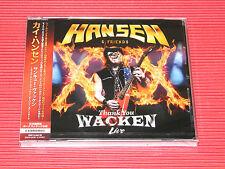 2017 JAPAN CD KAI HANSEN Thank You Wacken Live 2016 w/ Bonus Track Helloween