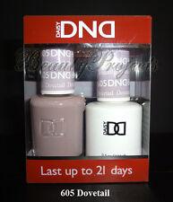 DND Daisy Dovetail 605 Soak Off DND Gel Polish .5oz LED/UV gel duo DND605