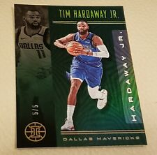 2019-20 Panini Illusions Tim Hardaway Jr #5/5 Green Refractor Single Card