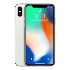 APPLE IPHONE X 64 GB TELEFONO MOVIL LIBRE SMARTPHONE COLOR PLATA SILVER  4G