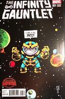 The Infinity Gauntlet #1 Secret Wars Marvel Comics Skottie Young Variant NM