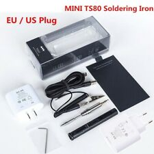 MINI TS80 Digital Soldering Iron Station QC3.0 USB Type-C OLED Programable Inter