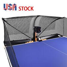 Table Tennis Robot Automatic Ping Pong Balls Professional Training Machine & Net