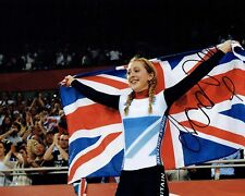 Laura TROTT Autograph Signed Olympic Photo 3 AFTAL COA Track Cyclist Gold Medal