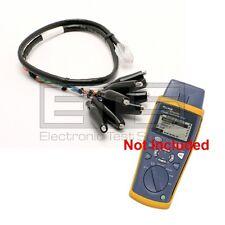 Fluke CIQ-100 Cable Qualification Tester CLIP-SET RJ45 To 8 - Clip Test Lead