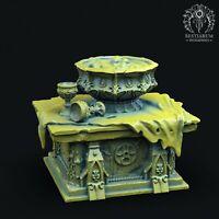 Bestiarum Miniatures Crimson Grove Abbey - Altar