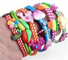 Wholesale 6PCS Jewelry Lots Polymer Clay Kids Baby Children Bracelets Wirst band