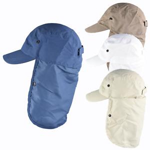 Legionnaires Cap Sun Hat Neck Protection UPF Lightweight Microfibre Summer