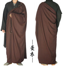 Zen Buddhist Kesa Priest Robe Meditation Kung Fu Suit Shaolin Monk Dress