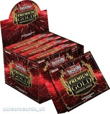 YuGiOh! Premium Gold: Infinite Gold 2016: 5 Packs x 15 Cards New And Sealed Box!