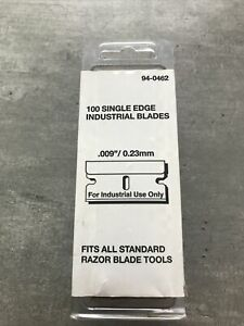 100 HEAVY DUTY  PERSONNA SCRAPER BLADES FOR LABELS / GASKETS / GLASS CLEANING